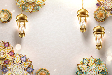 Islamic art background
