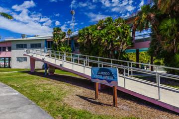 Flamingo Visitor Center in Everglades National Park in Florida, United States
