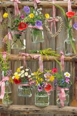 Sommerblumen Dekoration