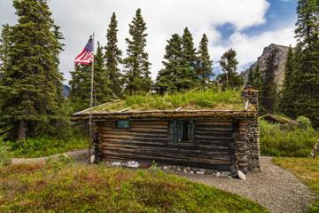 Richard Proenneke Cabin Historic Site in Lake Clark National Park in Alaska, United States