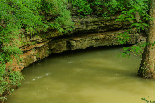 River Styx Spring in Mammoth Cave National Park in Kentucky, United States