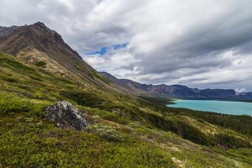 Upper Twin Lake in Lake Clark National Park in Alaska, United States