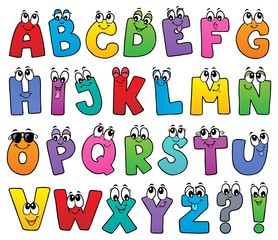 Cartoon alphabet topic image 1