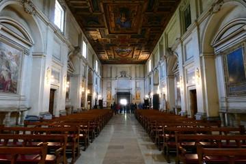 Poster Lieu de culte basilica di san sebastiano fuori le mura,roma,italia.