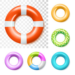 Inflatable Rubber Rings