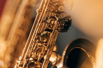 Saxophon Blur I Fotobehang