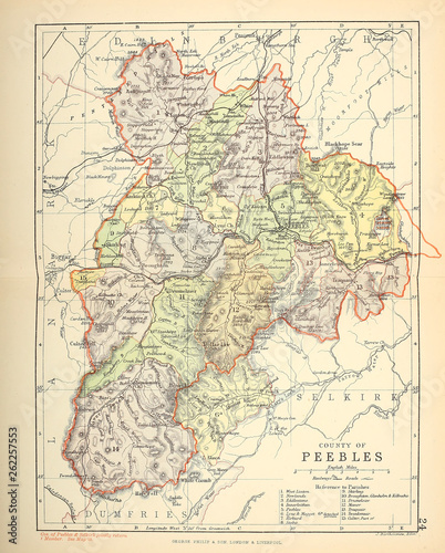 Old map  Scotland