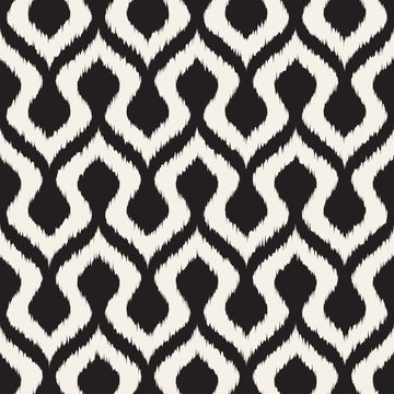 Vector stylized geometric seamless pattern. Modern abstract texture for your design.