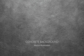 Vector gray concrete texture. Stone wall background. Wall mural