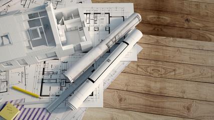 House construction process