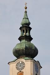 Wall Mural - Turmzwiebel der Pfarrkirche Wels, Oberösterreich
