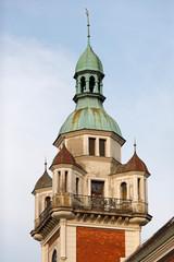 Wall Mural - Turm eines Bürgerhauses in Wels, um 1900