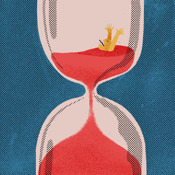 The passage of time absorbs us and distresses us. The life is a countdown.