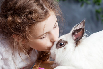 Download 1 200 Kiss Rabbit Animal Wall Murals Canvas Prints Stickers Wallsheaven