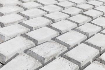 Concrete blocks. Industrial pattern