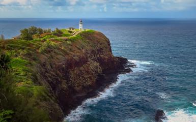 Lighthouse at Kilauea Point National Wildlife Refuge, Kauai, Hawaii