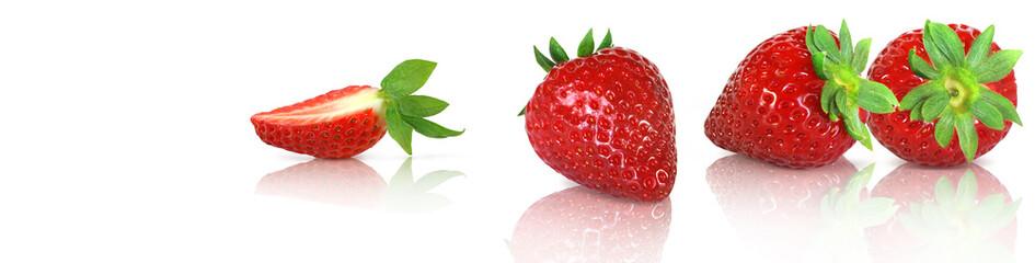 Erdbeeren Banner