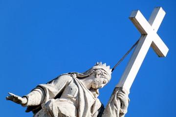 basilica di santa croce in gerusalemme,roma,italia.