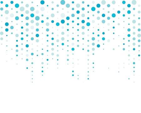 Dots vector background illustration