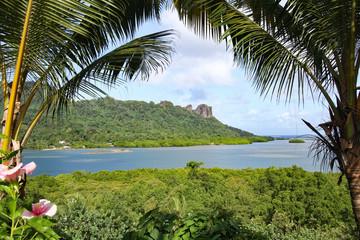 Sokehs Rock Pohnpei Micronesia