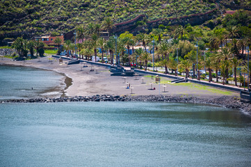 Strand von San Sebastian (La Gomera)