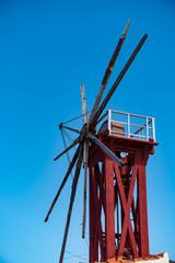 Alte Mühle in der Nähe von San Sebastian (La Gomera)