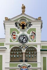 Wall Mural - Rathausturm Gmunden in Oberösterreich