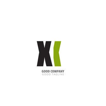 Initial Letter Design Logo - Vector