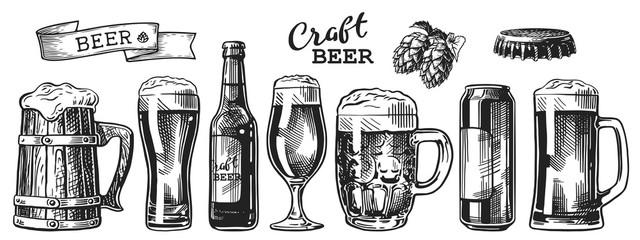 beer sketch set