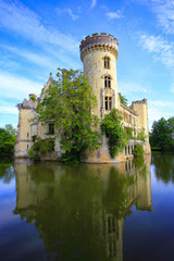 La Mothe Chandeniers, fairytale ruin of a french castle