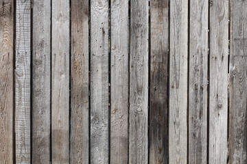 gray old wooden boards with texture as background
