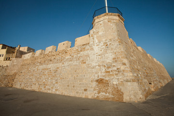 Fortress Firkas in old port of Chania, Crete, Greece
