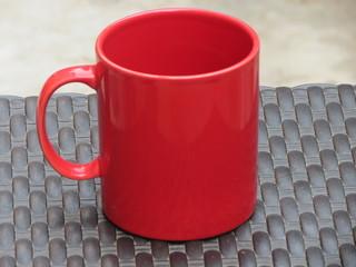 Taza roja