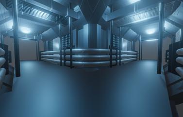 Sci-Fi - Zukunft - Hintergrund