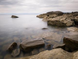 Slovenian coast long exposure