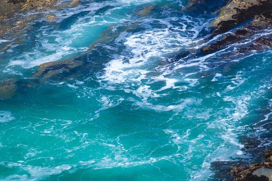 North America, Oregon, Pacific Ocean, Coos County, Cape Arago State Park. Rugged Coastline. Scenic Shores.