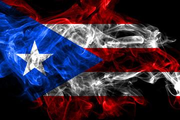 Puerto Rico smoke flag, United States dependent territory flag