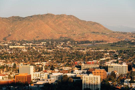 View of downtown Riverside from Mount Rubidoux, in Riverside, California