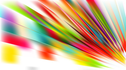 Wall Mural - Abstract Colorful Diagonal Lines Background
