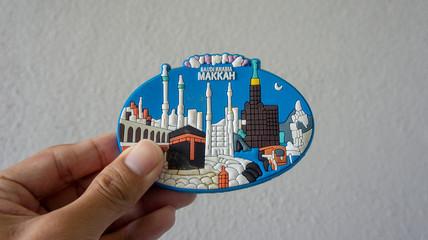 Fridge magnet from Mecca,Saudi Arabia