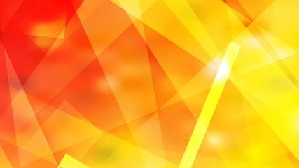 Abstract Red and Yellow Geometric Shapes Background Vector Art Wall mural