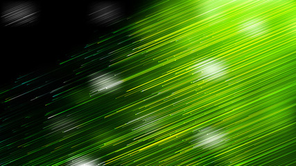 Shiny Green and Black Diagonal Lines Abstract Background Design Wall mural