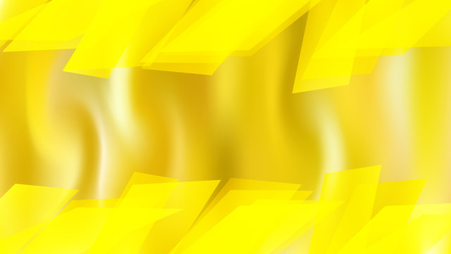 Abstract Bright Yellow Graphic Background