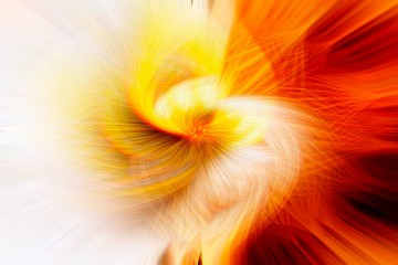 Abstract fractal concept, power
