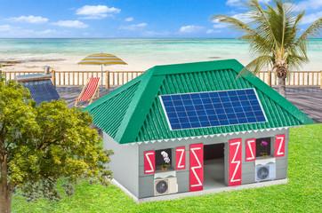 Maison créole énergies renouvelables