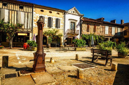 Labastide d'Armagnac is a beautiful village located in the department of the Landes, France