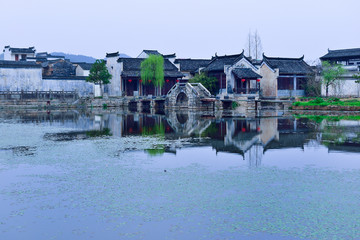 Traditional architectures in Anhui,China