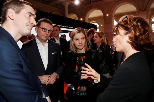 French Junior Minister for Economy and Finance Agnes Pannier-Runacher attends the Orange Business Summit in Paris