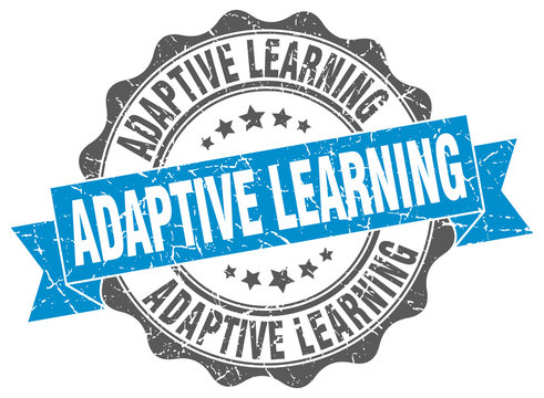 adaptive learning stamp. sign. seal