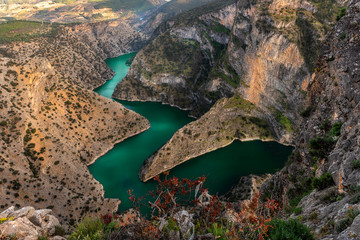 Interesting that the name and location with stunning views in mind, Turkey's new tourism point was Arapapisti Canyon